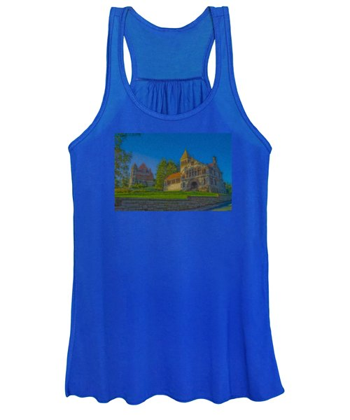 Ames Hall And Ames Free Library Women's Tank Top