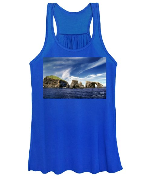 Channel Islands National Park - Anacapa Island Women's Tank Top