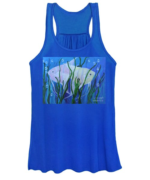 Angelfish Duo Women's Tank Top