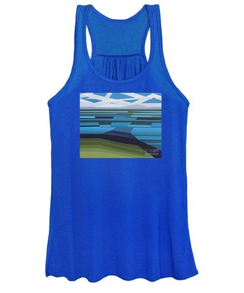 Angular Lake Women's Tank Top