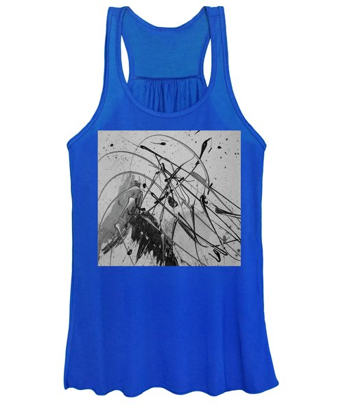 Women's Tank Top featuring the painting Another World by Michael Lucarelli