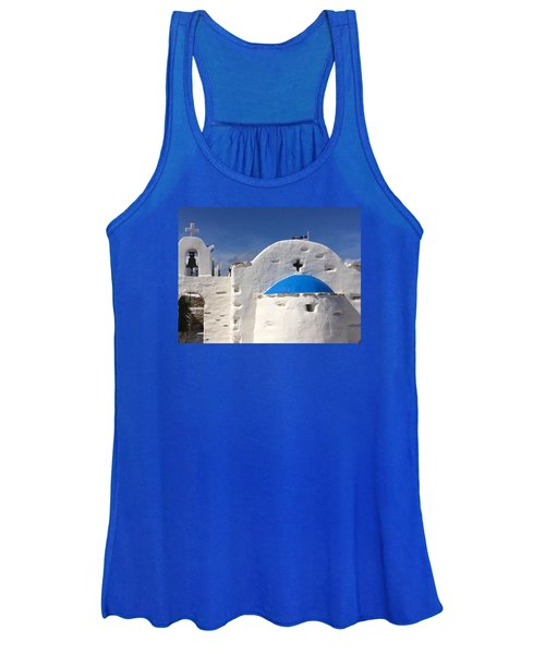 Antiparos Island Greece  Women's Tank Top