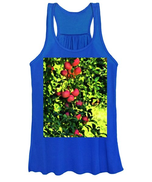 Women's Tank Top featuring the photograph Apple Orchard 1 by John Feiser