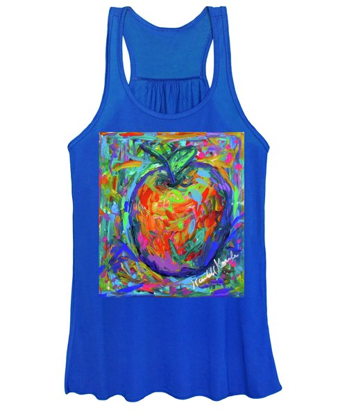 Apple Splash Women's Tank Top