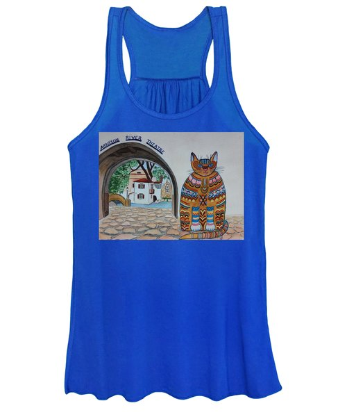 Arneson Theatre Cat Women's Tank Top