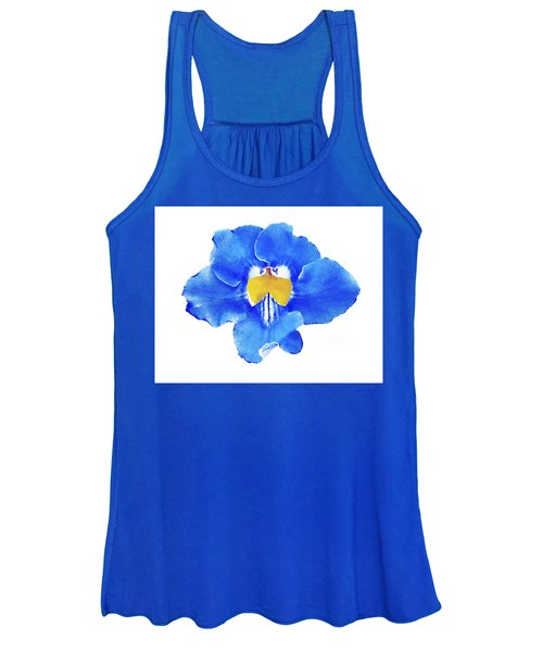 Art Blue Beauty Women's Tank Top