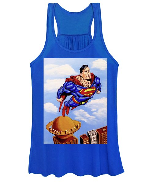 Superman Women's Tank Top