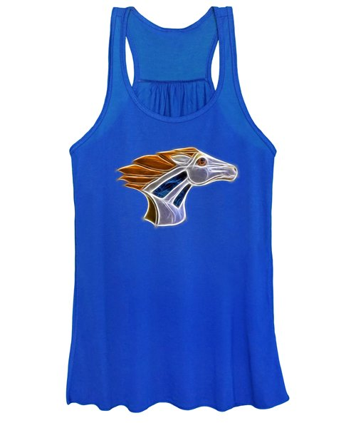 Glowing Bronco Women's Tank Top