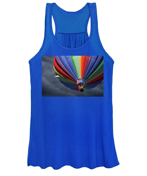 Ascending To The Storm Women's Tank Top