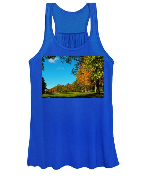 Autumn At World's End Women's Tank Top
