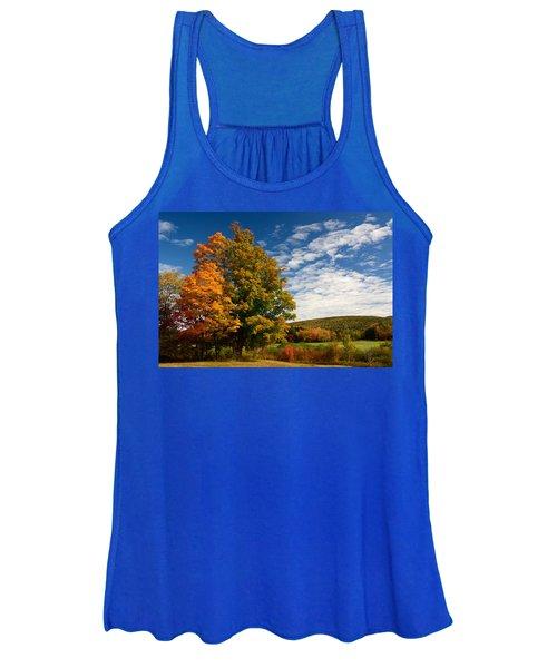 Autumn Tree On The Windham Path Women's Tank Top