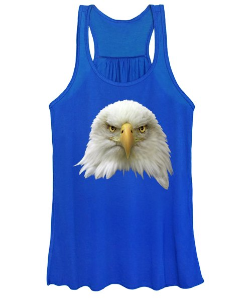 Women's Tank Top featuring the photograph Bald Eagle by Shane Bechler