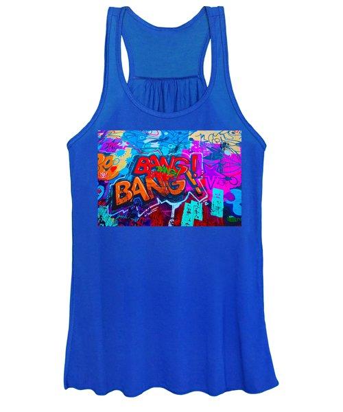 Bang Graffiti Nyc 2014 Women's Tank Top