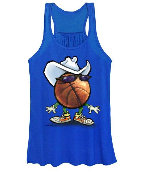 Basketball Cowboy Women's Tank Top