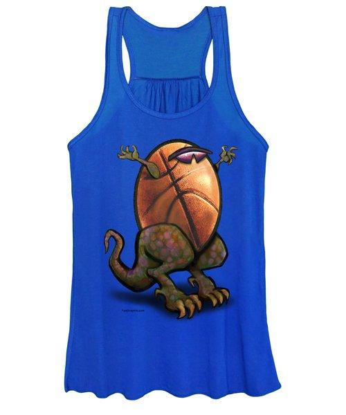 Basketball Saurus Rex Women's Tank Top