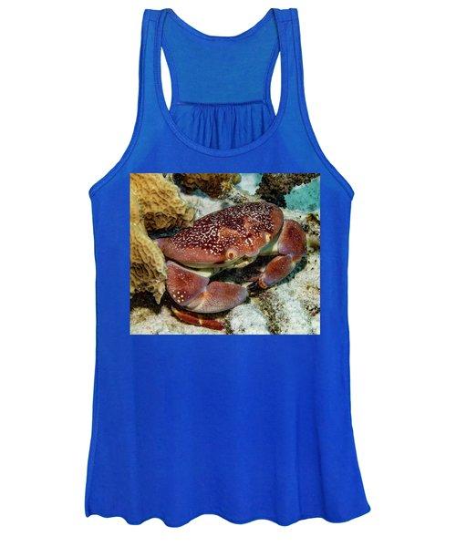 Batwing Coral Crab Women's Tank Top