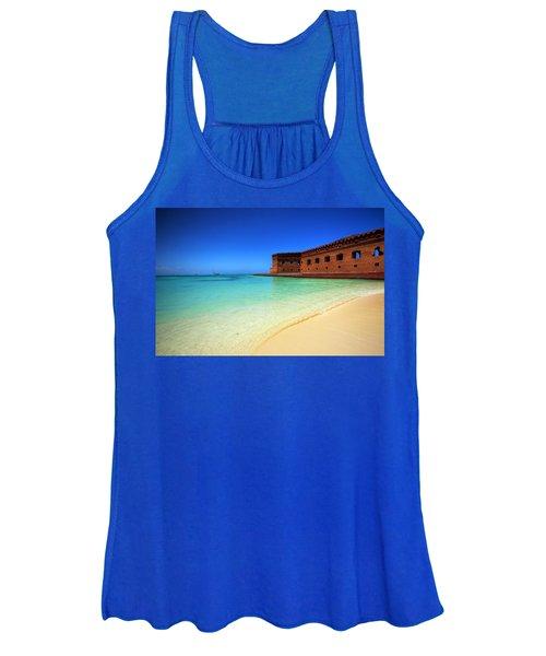 Beach Fort. Women's Tank Top