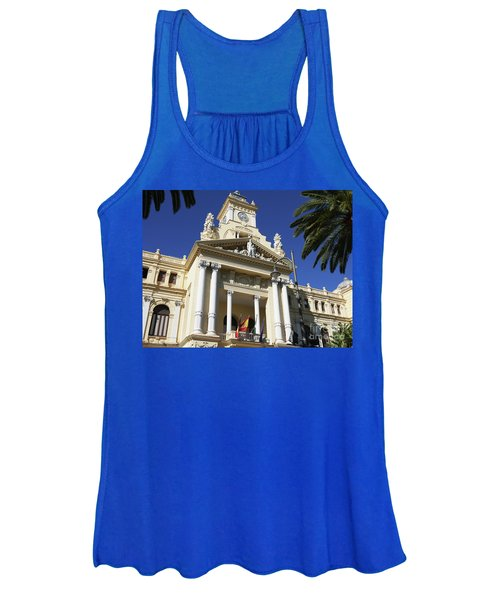 Beautiful Malaga City Hall Women's Tank Top