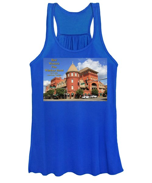 Best Western Plus Windsor Hotel Women's Tank Top