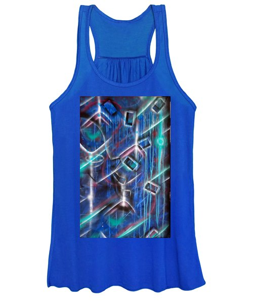 Big Blue Women's Tank Top