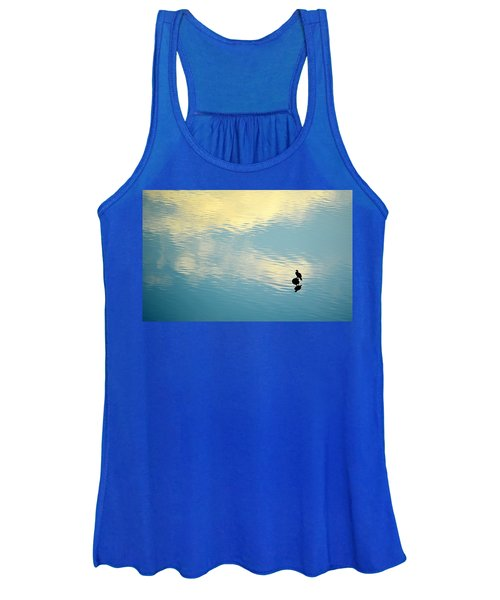Bird Reflection Women's Tank Top