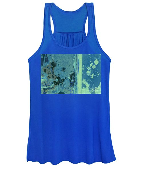 Blue Abstraction Women's Tank Top