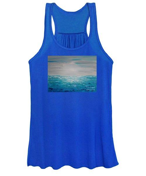 Blue Beach Women's Tank Top