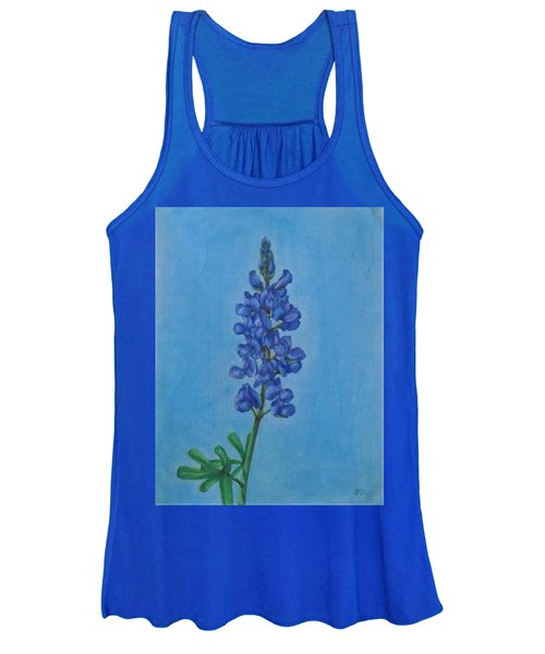 Blue Bonnet Women's Tank Top