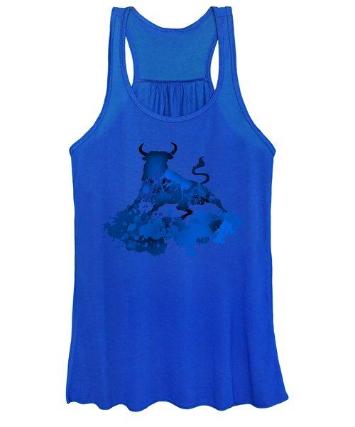 Blue Bull Women's Tank Top