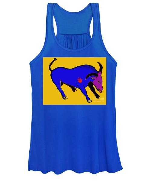 Blue Bull Women's Tank Top