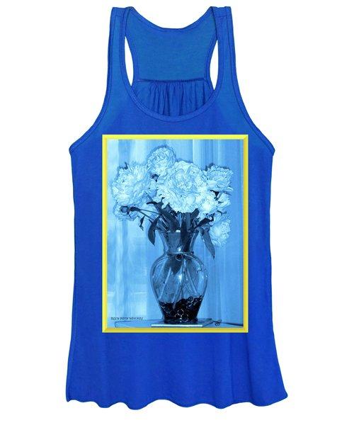 Blue Women's Tank Top