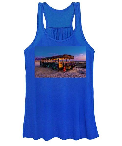 Blue Hour Bus Women's Tank Top