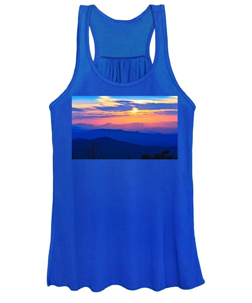 Blue Ridge Parkway Sunset, Va Women's Tank Top