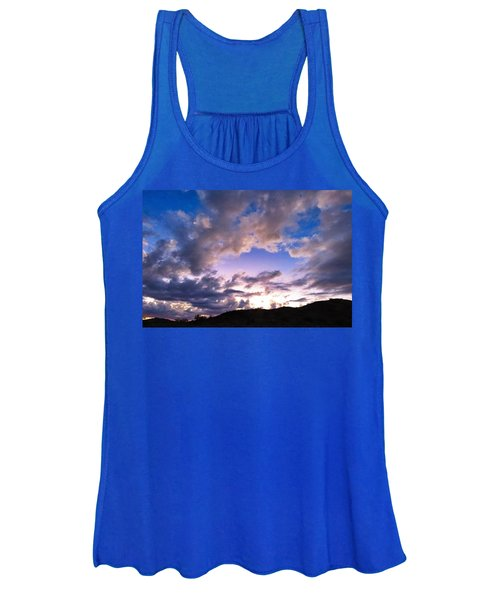 Blue Sunset Women's Tank Top