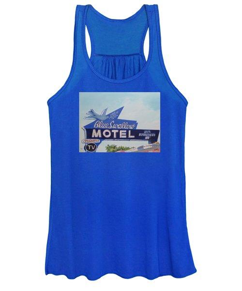 Blue Swallow Women's Tank Top