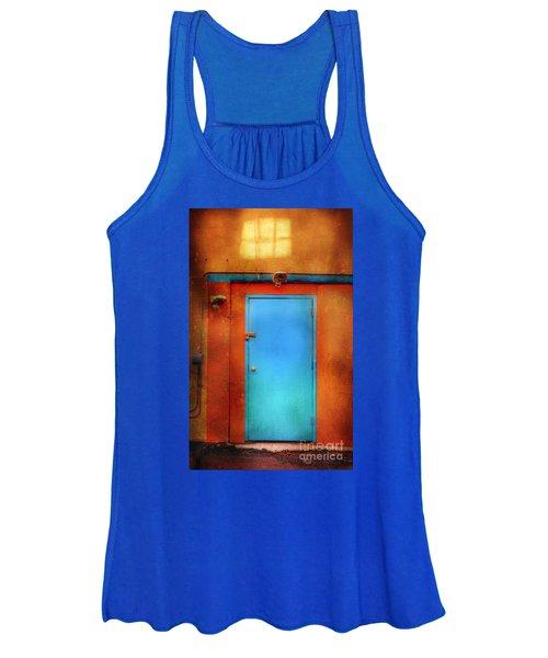 Blue Taos Door Women's Tank Top