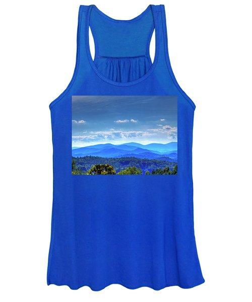 Blue Waves Women's Tank Top