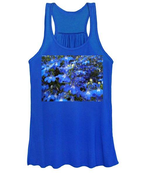 Bluer Than Blue Women's Tank Top