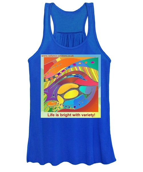 Bold Organic - Life Is Bright With Variety Women's Tank Top