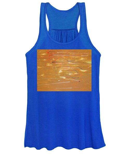 Women's Tank Top featuring the painting Born Again by Michael Lucarelli