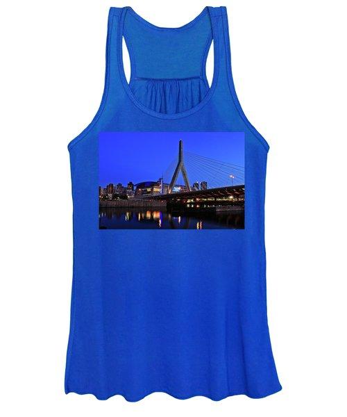 Boston Garden And Zakim Bridge Women's Tank Top