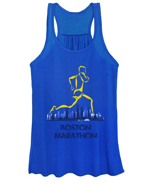 Boston Marathon5 Women's Tank Top