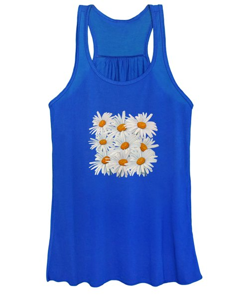 Bouquet Of White Daisies Women's Tank Top