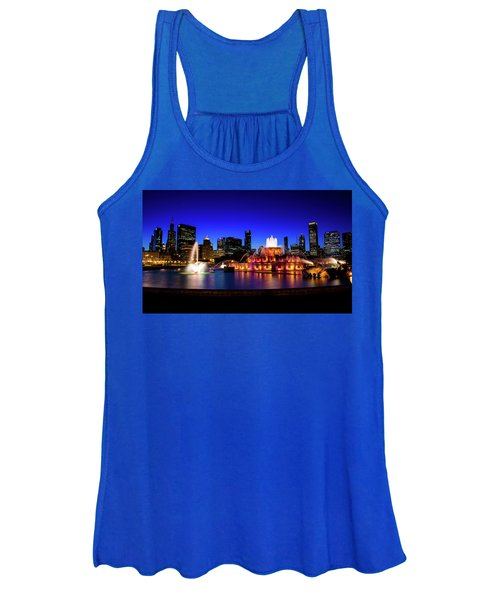 Buckingham Memorial Fountain Women's Tank Top