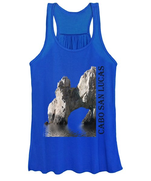 Women's Tank Top featuring the photograph Cabo San Lucas Archway by Shane Bechler