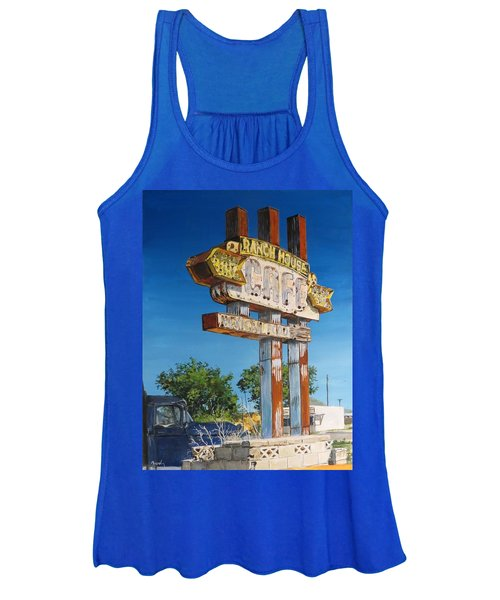 Cafe Women's Tank Top
