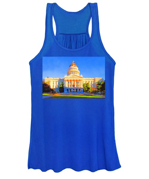California State Capitol . Painterly Women's Tank Top