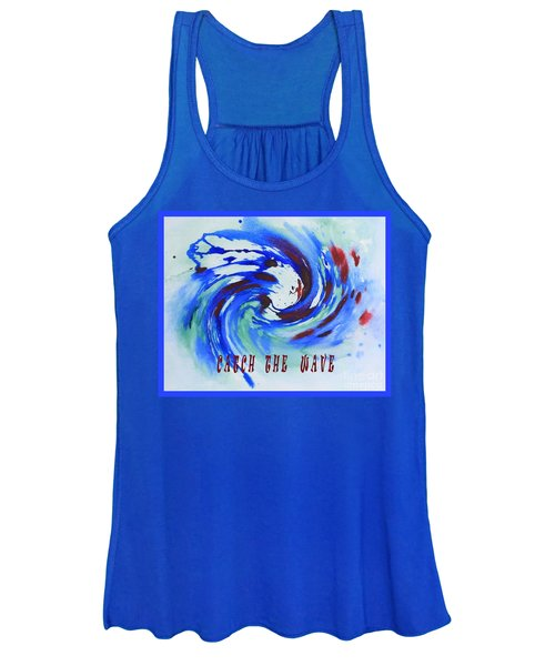 Catch The Wave Women's Tank Top