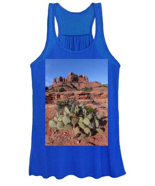 Cathedral Rock Cactus Grove Women's Tank Top