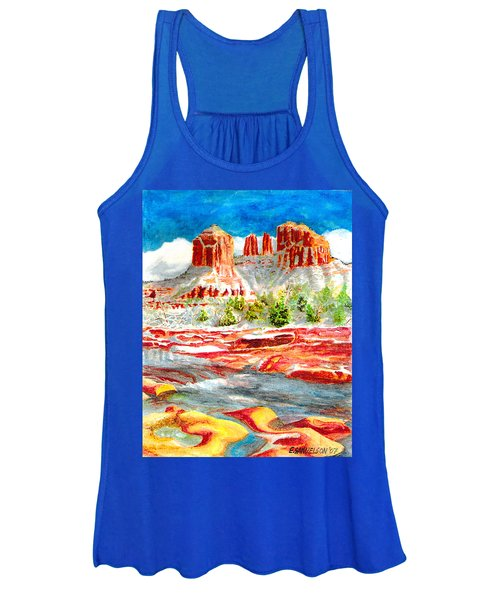 Cathedral Rock Crossing Women's Tank Top